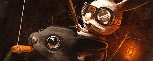 Mr. Bunners the Rabbit Master by =MikePMitchell