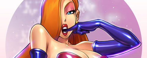 Jessica Rabbit by =reiq