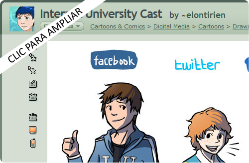 Internet University Cast by ~elontirien