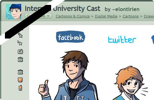 Internet University Cast by ~elontirien